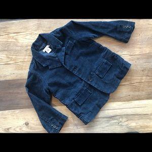 Little Marc Jacobs Blue Corduroy Blazer Size 4T